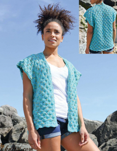 Cover-up knitting pattern