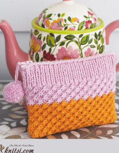 Coin purse knitting pattern