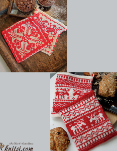 Potholders knitting patterns