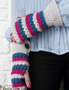 Mitts crochet pattern