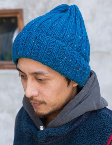 Men's hat knitting pattern free