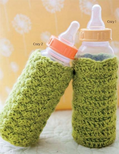 Bottle cozy crochet pattern free