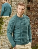 Men's sweater knitting pattern
