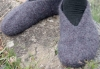 Slippers knitting pattern
