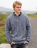 Free knitting pattern sweater for men
