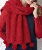 Free crochet pattern wrap-sharf