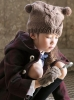 Kids cap & mittens knitting patterns free