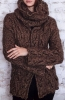 Free knitting patterns jacket & cowl